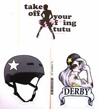 DERBY STICKER PACK #7 ***KIT OUT THE BEER FRIDGE!***