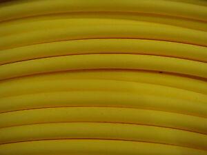 "3 feet 1/8"" YELLOW 2:1 Ratio Flexible Polyolefin Heat Shrink Tubing USA MADE"