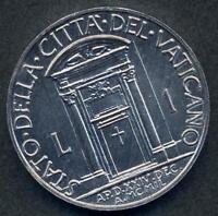 VATICANO 1 Lira 1950 Anno Santo FDC (UNC)