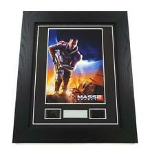 MASS EFFECT 2 FILM CELL Framed COMMANDER SHEPARD Video Game Memorabilia GIFTS