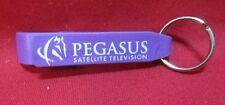 Pegasus Satellite television Keychain Key Ring Bottle Opener