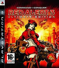 New Command & Conquer Red Alert 3 Ultimate Edition (PS3, Playstation 3)