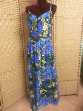 LADIES CITY CHIC STAINGLASS MAXI DRESS PLUS SIZE L
