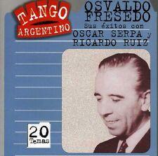 Osvaldo Fresedo - Sus Exitos Con Ruiz y Serpa [New CD] Argentina - Import