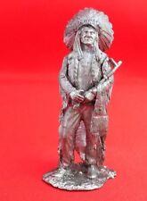 Figure Tin toy miniature sculpture 54mm scale 1:32 HANDMADE Wild West