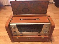 VTG 1950s RCA-Victor 7-BX- Strato-World II Transoceanic Tube Radio,ShortWave