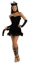 Secret Wishes Women's Kissable Kitty Sexy Fancy Black Cat Adult Costume Small