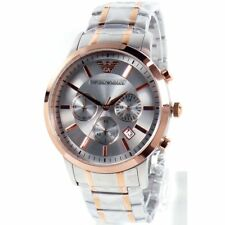 Emporio Armani Reloj Hombre Cronógrafo AR11077 Renato Muñeca Nuevo