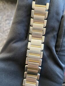 VINTAGE Unbranded Watch Bracelet 20mm Stainless Steel Swiss Made For 40mm Watch