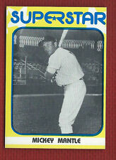 MICKEY MANTLE 1982 SUPERSTAR 1st Series #31 New York Yankees Only One on eBay