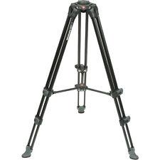 Manfrotto MVT502AM Aluminum Telescopic Twin Leg Video Tripod. No Fees! EU Seller