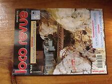 $$y Loco Revue N°546 Picasso  Wagon transport fil machine  Roche platre grave