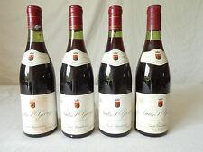 4 Bouteilles de vin rouge Nuits Saint Georges Emile Chandesais 1975