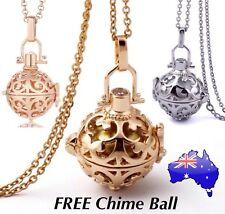 Angel Caller Gold/ Rose Gold/ Silver Harmony Chime Ball Bola Locket Necklace New