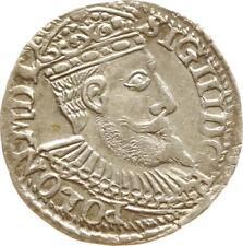 Sigismund III., Dreigröscher 1598 IF Olkusz, Gumowski 1076