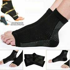2Pcs Compression Wear Foot Pro Relieves Plantar Fasciitis Heel Pain Socks nyis12
