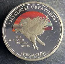 1 Dollar 2009 Cook Islands Pegasus selten