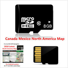 8GB Micro SD/TF Card Map For Android System Car DVD GPS Navigation North America