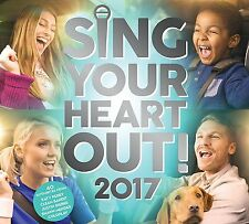 SING YOUR HEART OUT 2017 (Various) 2 CD SET (2017)