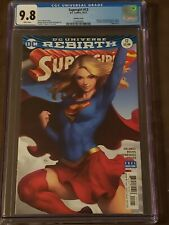 """Supergirl #12 (CGC 9.8) - Stanley """"Artgerm"""" Lau Variant - 2017 DC - Sold Out!"""