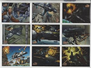 Star Wars Vehicles - Trading Card MASTER SET Chase, Lenticular, Etc - Topps 1997