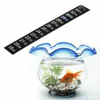 C/F Aquarium Thermometer Sticker Digital Display Fish Tank Temperature Measure