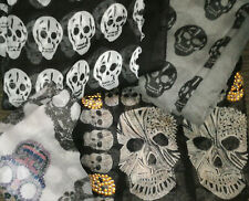 4 X SKULL SCARF VARIOUS SIZES PLEASE SEE PICTURE