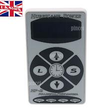 Hurricane HP-2 White Dual Digital LCD Tattoo Power Supply Machine New Version UK