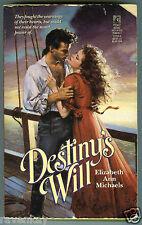 Elizabeth Ann Michaels DESTINY'S WILL High Seas / Sea Captain / Virginia Romance