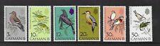 Cayman Island 1974 UMM Birds (1st Series) sg 337/42