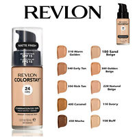 REVLON Colorstay Foundation 24Hrs Matte Makeup with PUMP 30ml *ALL SHADES*