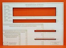 Briefschablone Formatschablone Postschablone Portoschablone HOLZ 5mm Dick STABIL