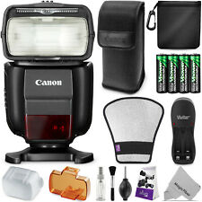 Canon Speedlite 430EX III-RT Flash with Essential Photo Bundle