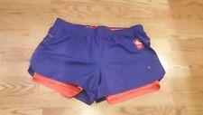 Danskin Now Women's Performance/Running Fitted Shorts XL 16-18 Purple