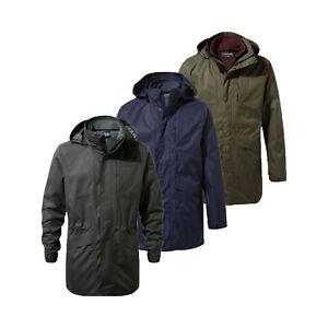 Craghoppers Mens Herston 3 in 1 Waterproof Lined 3in1 Jacket RRP £160