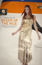 Queen Of The Nile Halloween Costume Dress Womens L 12 14