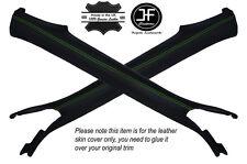 Cuciture verde 2x un pilastro in pelle copre gli accoppiamenti Cambogia TRANS AM FIREBIRD 93-02