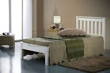 Solid Wood Modern Classic Bed Frame Mattresses