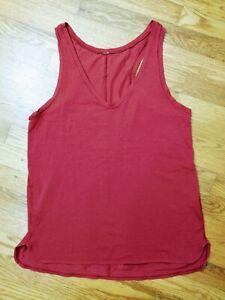 Women's Size 10 Lululemon Circadian Tank Cranberry