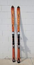 Atomic Hyper Carbon Beta Ride Skis Orange Black Titanium 1200 Bindings Untested