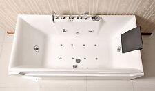 New Jetted Whirlpool Hydrotherapy Bathtub Bath Tub  Radio Chromatherapy by Kokss