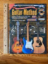 Progressive Guitar Method Book 1 Beginner Lesson Cd Dvd Gary Turner Instruction
