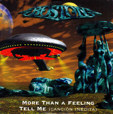BOSTON - MORE THAN A FEELING + TELL ME CANCION INEDITA CD SINGLE 2 TRACKS PROMO