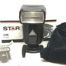 Photoflex Starfire Shoe Mount Portable Studio Flash Strobe Variable Power Slave
