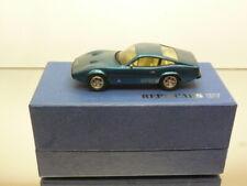 REPLICARS 107 FERRARI 365GTC/4 1973 - BLUE METALLIC 1:43  - VERY GOOD IN BOX