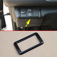 For Honda Civic 2016-2019 Carbon Fiber Dashboard Adjust Switch Cover Surrounds