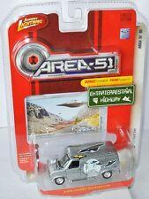 Area 51 - 1977 FORD VAN - silver/graphics - 1:64 Johnny Lightning