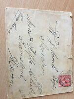 GB UK King Edward VII cover posted at sea pacquebot Southampton 1913