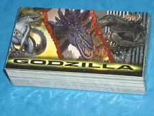 GODZILLA 'Supervue' Premium Trading Cards Base Set Inkworks 1998 Broderick