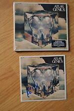 ATLAS GENIUS ~ Inanimate Objects Autographed CD with COA ~ Mike & Keith Jeffery